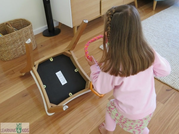 fundamental movement skill underarm throwing game for kids