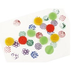 Texture Finger Printers Pack of 8
