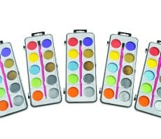 Colorations Shimmery Washable Watercolours Set of 5