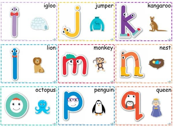 Alphabet Play Dough Mats i-q 600