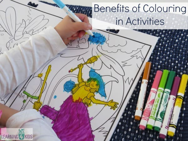 Benefits of Colouring In Activities