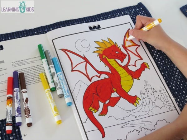 crayola color alive colouring in books with special effects and 4d element - Crayola Color Alive Special Pages