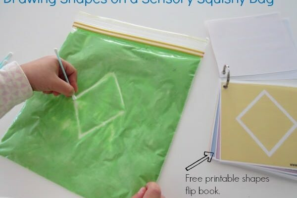 Pre Writing Activities With Squishy Bags Learning 4 Kids