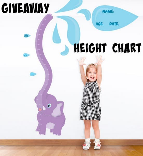 Giveaway Height Chart Competition