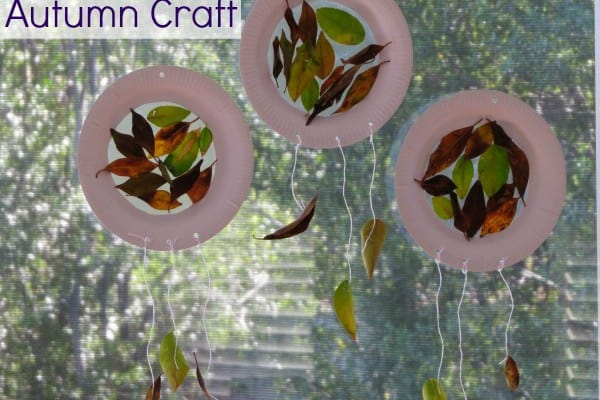 Paper Plate Autumn Craft Learning 4 Kids