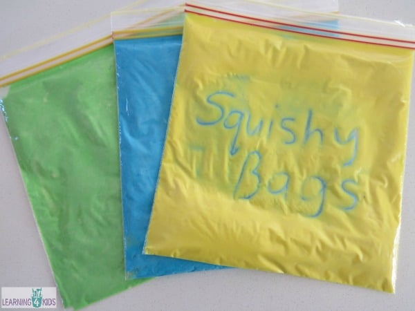 How to make Squishy Sensory Bags? | Learning 4 Kids