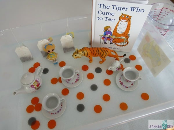 The Tiger Who Came for Tea - extension activity for reading the story