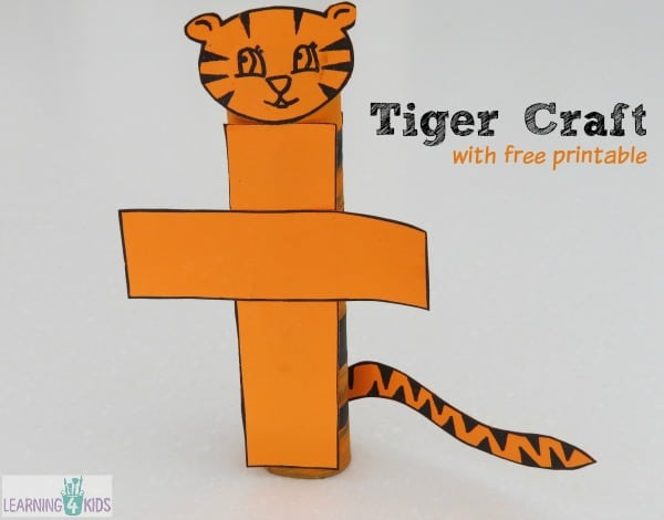Tiger Craft with Free Printable