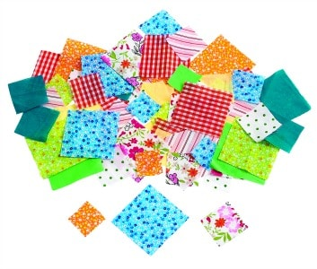 Fabric Squares Pack of 150