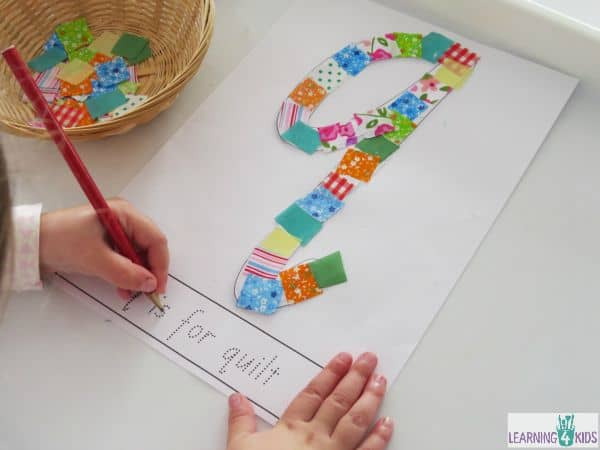 Free printable letter q in different fonts - q is for quilting