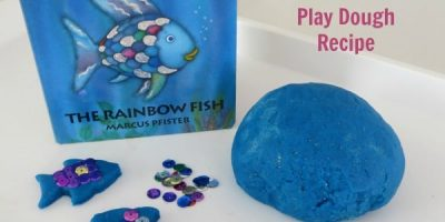 The Rainbow Fish by Marcus Pfister Inspired Play Dough Recipe