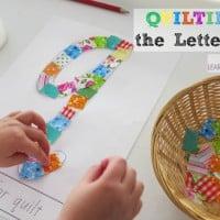 letter q activity - quilting the letter q