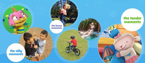 Disney Junior Magical Moments - share a small video capturing a magical moment with your child