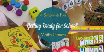 Getting ready for school - 4 simple and fun maths games to play including ABC Mathseeds online maths learning program for 3-6 year olds