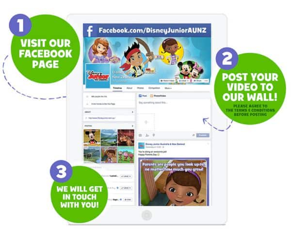 How to participate in the Disney Junior Magical Moments