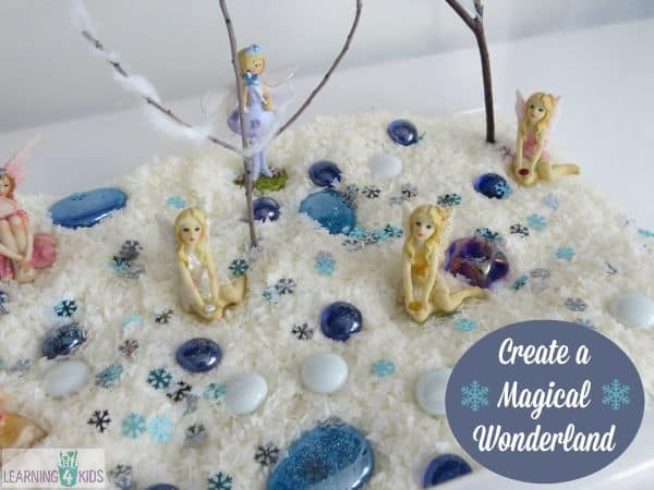 Invitation to play - create a magical wonderland