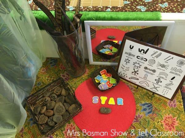 Show and Tell Classoom - English Literacy Table - Imge credit Francis Bosman
