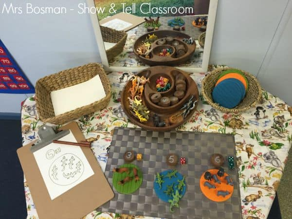 Show and Tell Classroom - Maths Provocation for this week will focus on counting - Image credit Francis Bosman