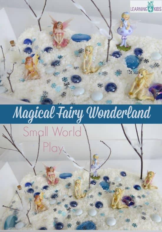 Small world play - magical fairy wonderland