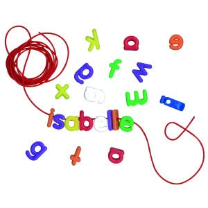 Lowercase Letter Beads Pack of 288