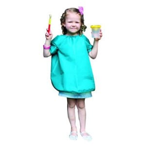 Short Sleeve Painting Smock 4-6 Years 62cm L
