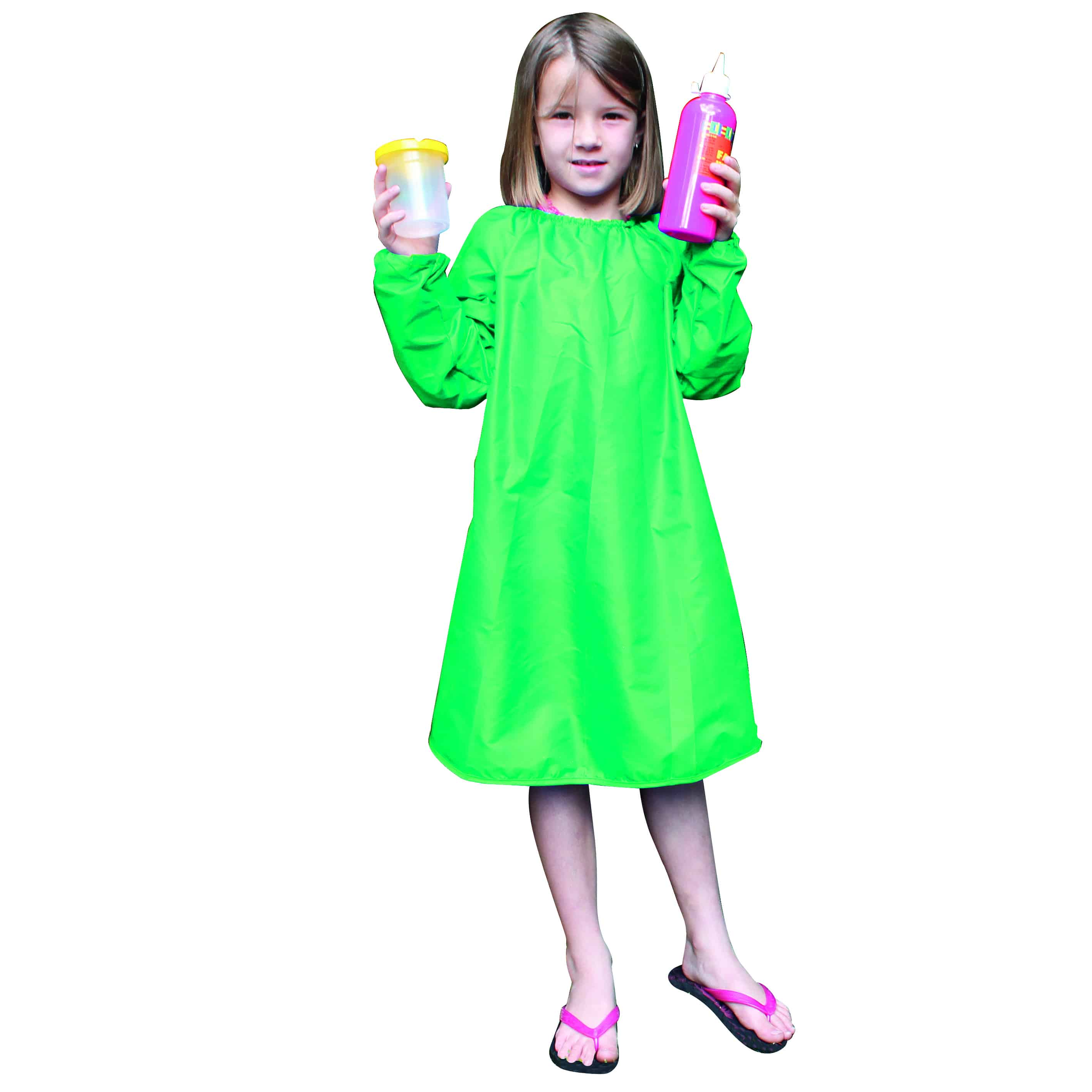 Long Sleeve Painting Smock 6-8 Years 70cm L