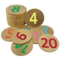 Number Memory Discs