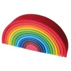 Grimm's Large Stacking Wooden Rainbow