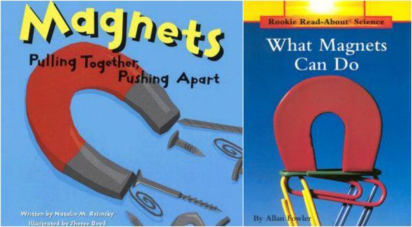 Children's books on magnets