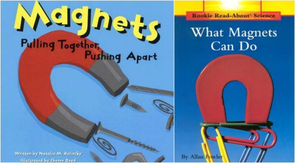 Children's books on magnets