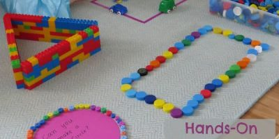 Hands-on learning with shapes. Lots of fun and motivating activities for kids