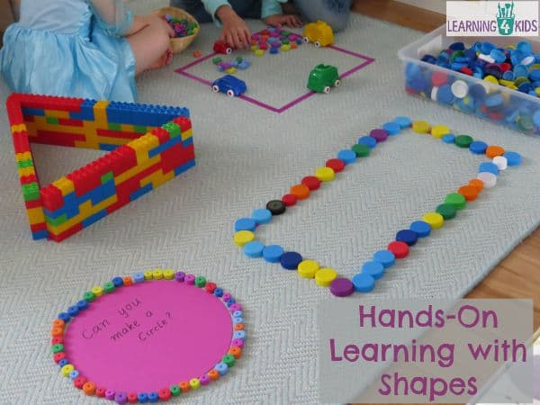 Hands On Learning Shapes Activities | Learning 4 Kids