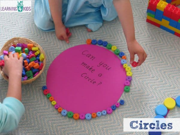 Learning about circles with fun hands-on activities