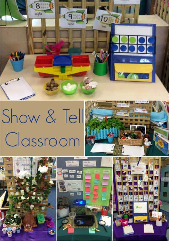 Show and Tell Classroom - take a tour around Ms Fry and Ms Guthridges Classroom for lots of inspiring ideas.