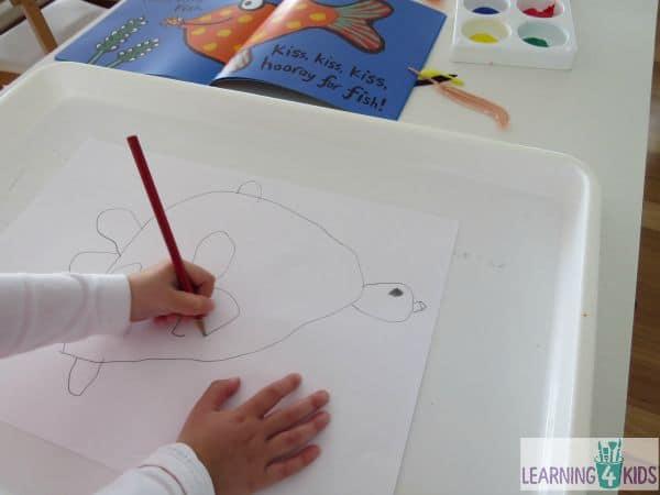 drawing a fish