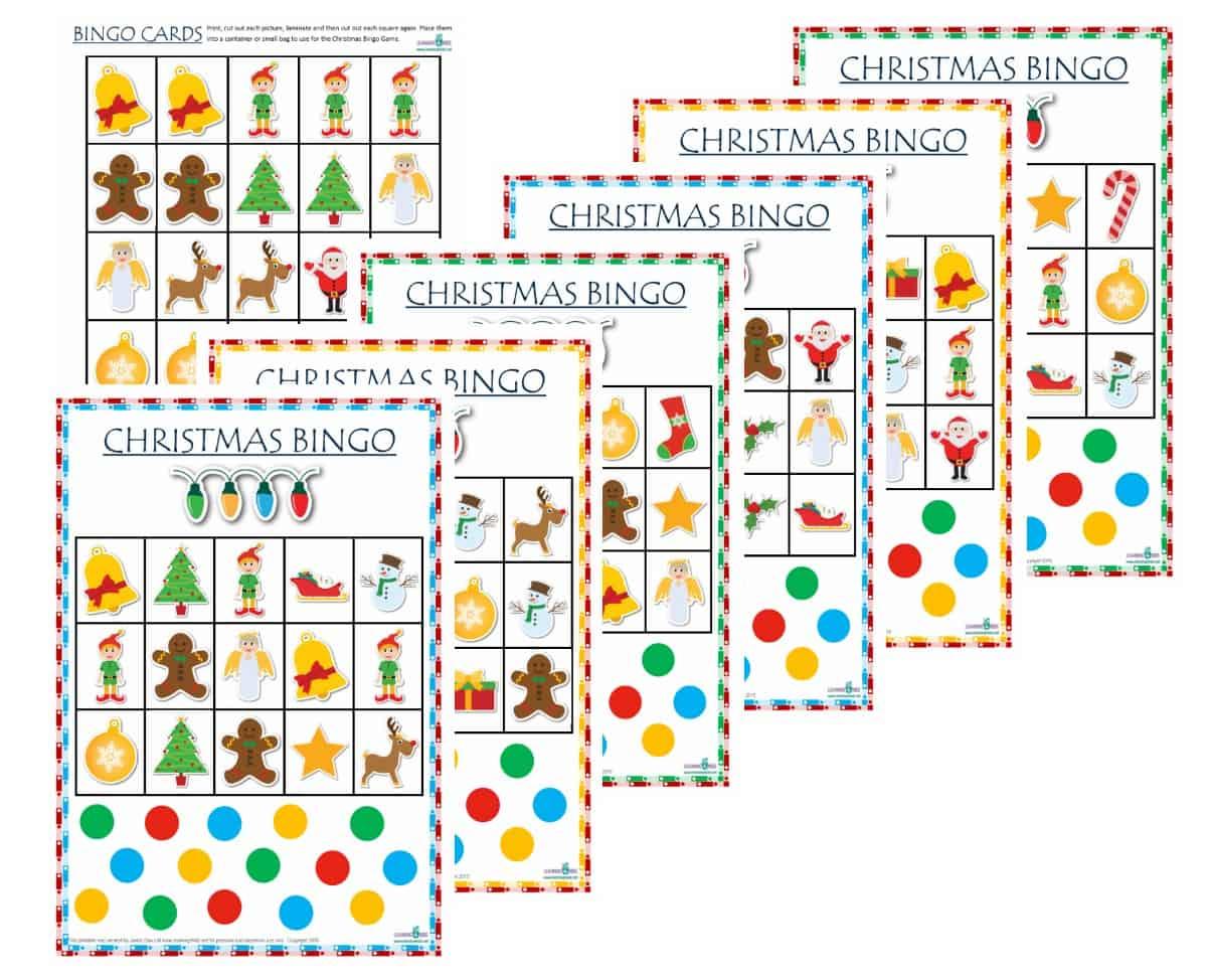 Christmas Bingo Merged