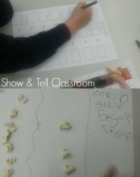 Froot Loop and Popcorn Maths - Show & Tell Classroom. Image credit Justine Moorman