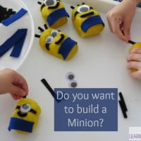 Play dough fun - do you want to build a minion