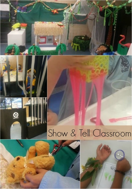 Show and Tell Classroom - take a tour around Mrs Moorman's Classroom for lots of inspiring ideas.