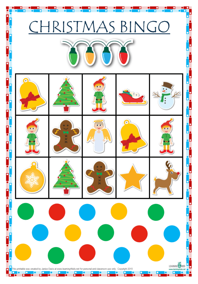 image about Christmas Bingo Printable identified as The Best Xmas Printable Sport Pack