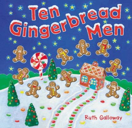 Ten Gingerbread Men by Ruth Galloway