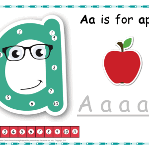 Dot-to-dot Alphabet Letter Charts - great for learning how to write letters the correct way.