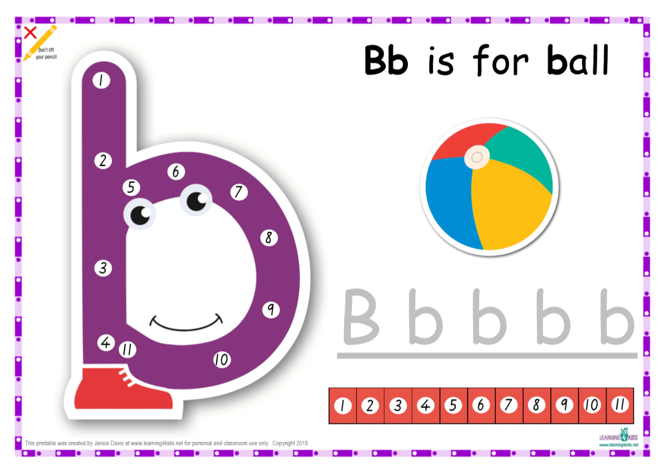 dot to dot alphabet letter charts learning 4 kids