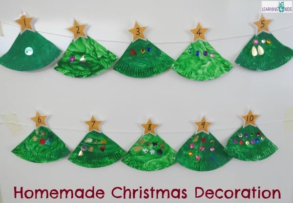 homemade christmas tree decoration