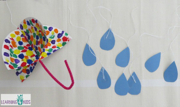 Umbrella Art And Craft Activity