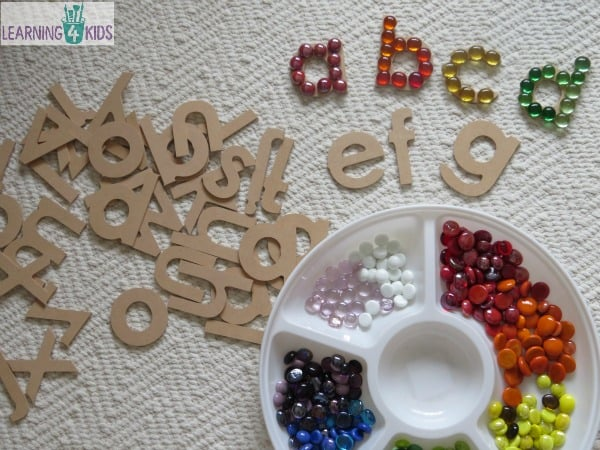 Fun, hands-on and interactive alphabet sequence activity.