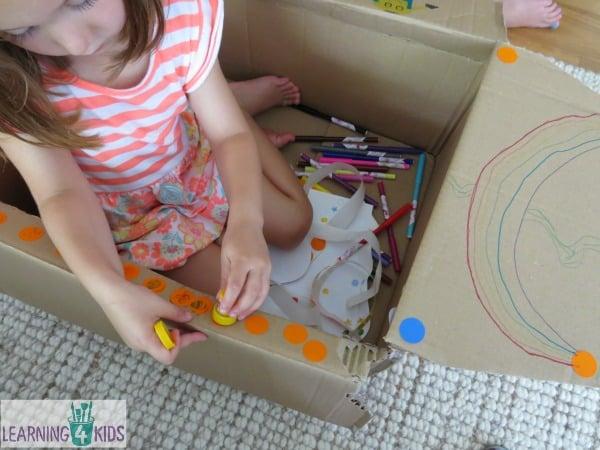 Cardboard Box Creativity - play ideas for kids