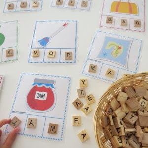 Printable CVC Words Bundle Activity Pack