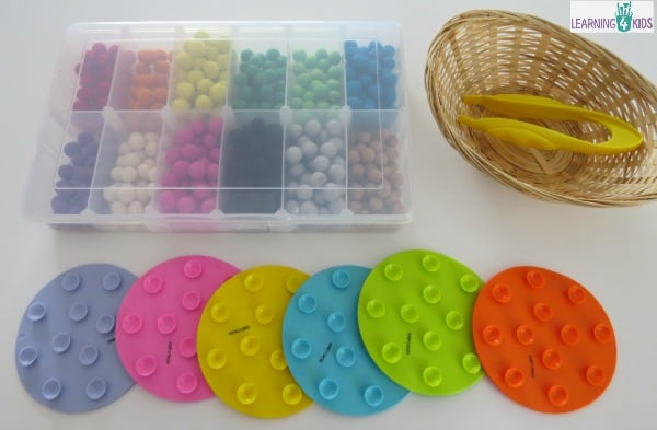 fine motor, pincer grasp invitation to play ideas and activities