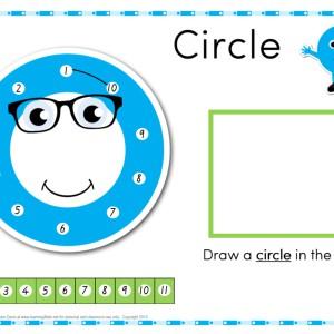 Dot to dot circle